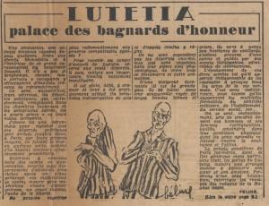 Lutetia - Libres 17 mai 1945 Histoire à la Une