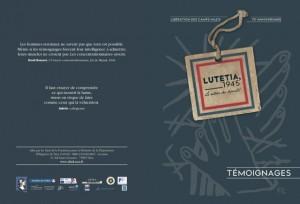 Couverture du livre Lutetia,195 : Recueil de témoignages